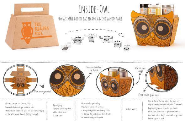 The Orange Owl: Inside-owl