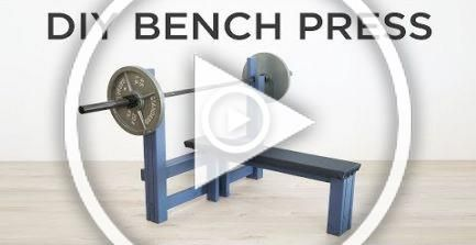 DIY Bench Press | How to make a weight bench #fitness