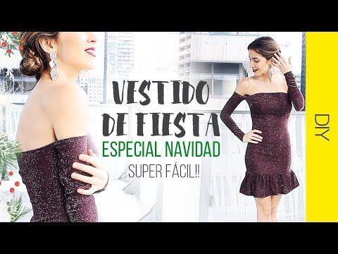 6d8b3790ef DIY VESTIDO ESPECIAL NAVIDAD