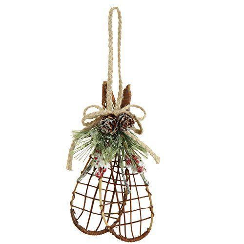 Raz Snowshoe Ornament