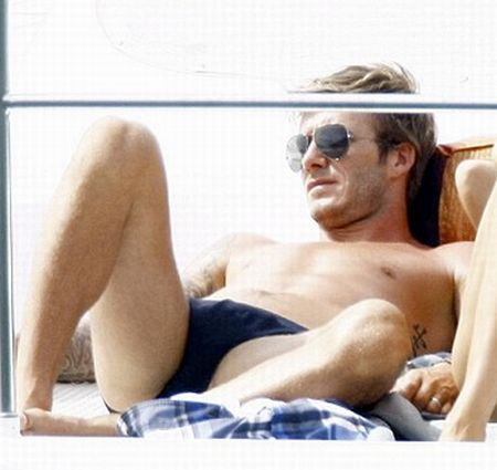 Bulge david beckham