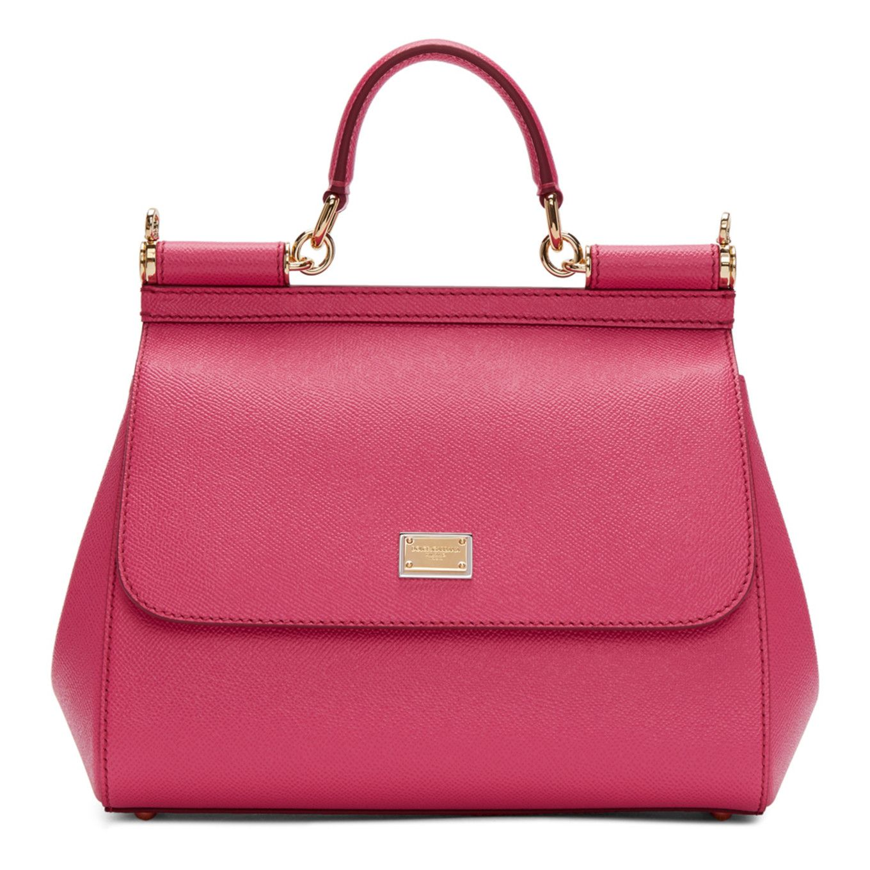 Dolce   Gabbana - Pink Medium Sicily Bag  f5c57b67c57a3
