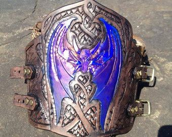 Clawed Gauntlet And Bracer Single Custom Color Claw Glove Costume Claw Claw Gloves Leather Armor Leather Pieces