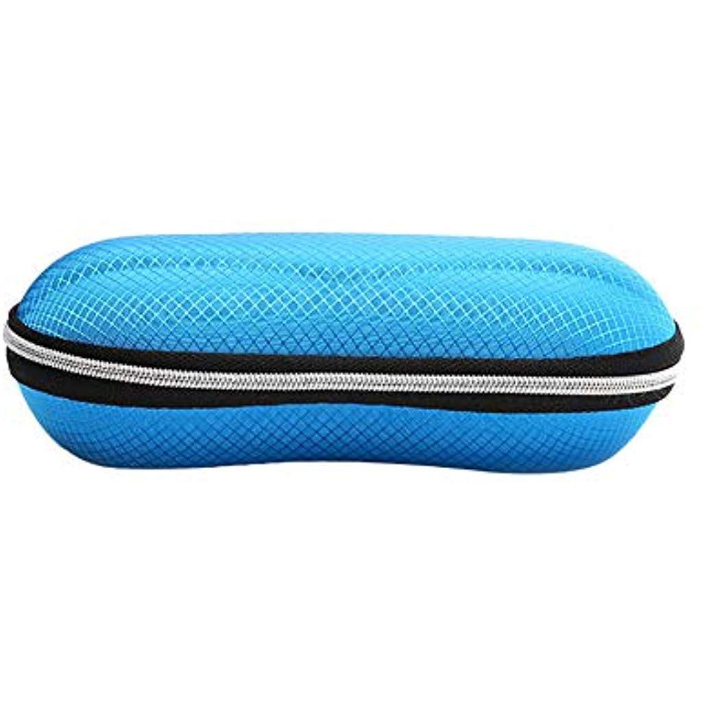 Color : Blue ZRDY Portable Lunettes De Soleil en Plastique /Étui /À Lunettes Semi-Transparent PP Lunettes De Vue Protecteur Conteneur De Stockage Bo/îte Accessoires