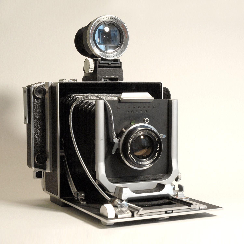 Vintage Linhof Standard Press Camera 4x5 dotandbo