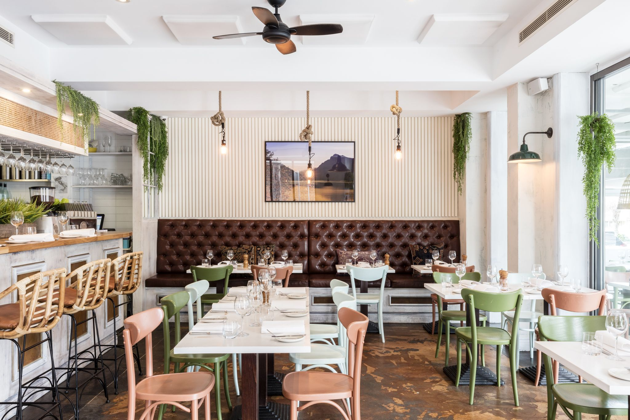 VIA ALTA Commercial Restaurant Interior Design By THE DESIGNORY A Classic Neighbourhood Italian Trattoria In North Willoughby Via Alta Meaning High