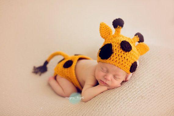 Giraffe Hat Baby Giraffe Diaper Cover Photo Prop Baby Etsy In 2020 Giraffe Hat Baby Costumes Giraffe Costume