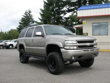 Used Lifted Chevrolet Tahoe 1500 Lt 03 For Sale In Wa 11995