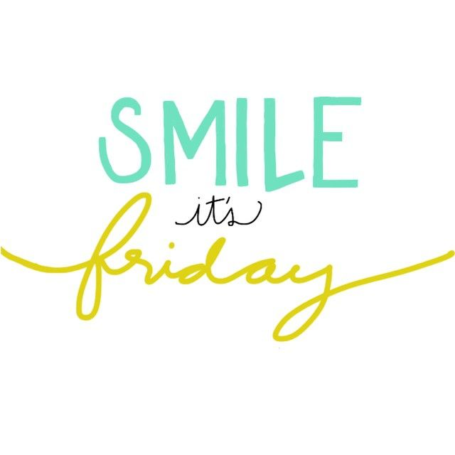 Happy Friday! Any weekend plans you are excited about? #fridayquotes