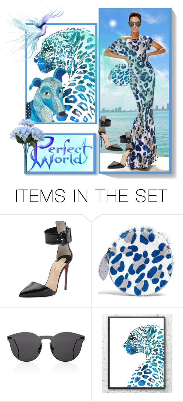 """Perfect World"" by m-kints ❤ liked on Polyvore featuring art, New and animal"