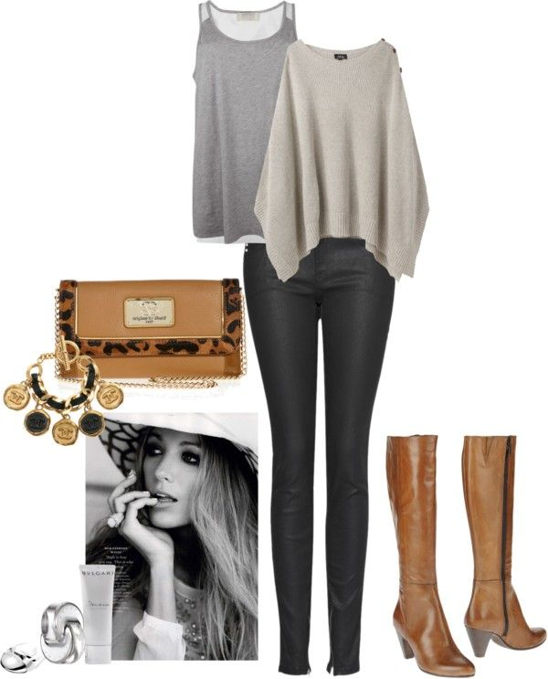 """""""Cozy shopping day"""" by rissygirl on Polyvore"""