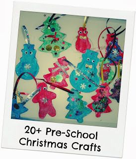 20  Pre-School Christmas Crafts By Le Baby Bakery