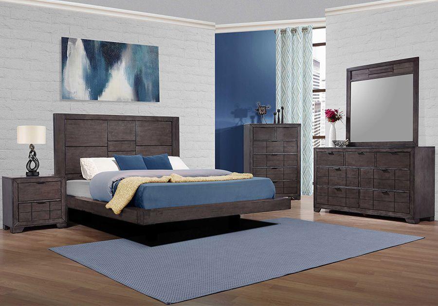 Logic Grey 5 Pc Queen Bedroom Badcock Home Furniture More Of South Florida Bedroom Sets Queen Bedroom Home Furniture