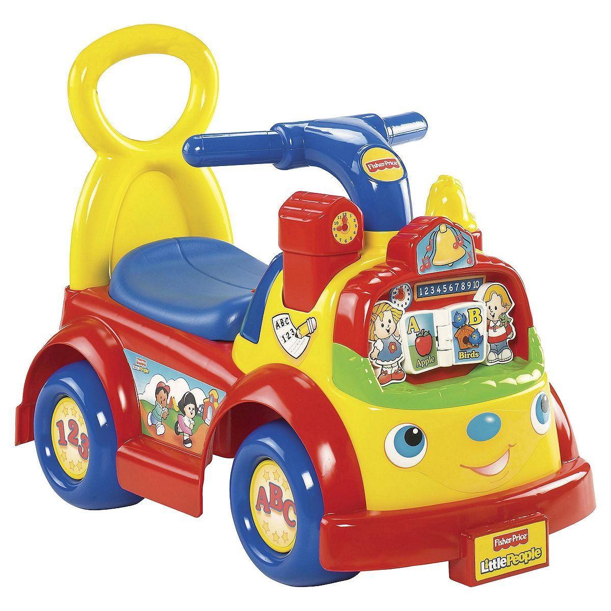 Tesco Direct Fisher Price Time To Learn Ride On Toys