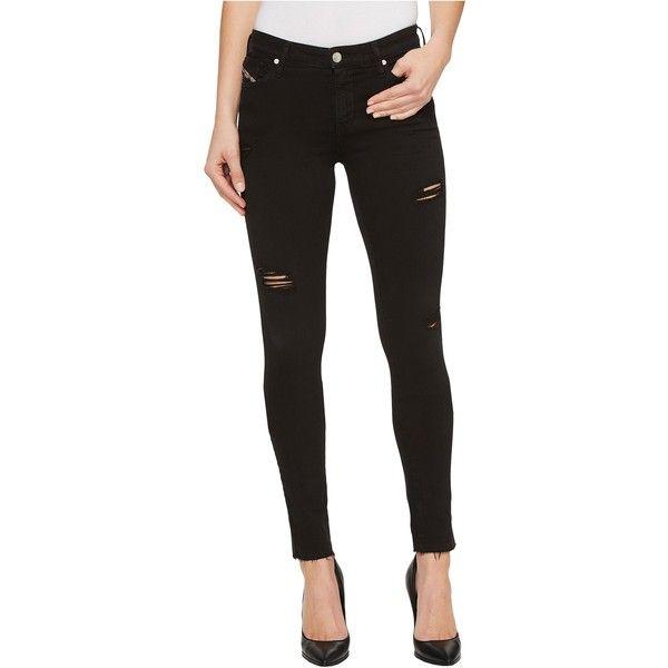 Diesel Skinzee L.32 Trousers 84EX (Black) Women\u0027s Jeans ($90) ?