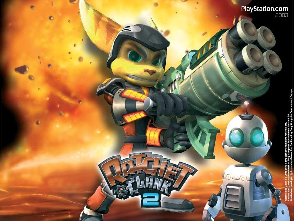 Games Wallpaper Ratchet And Clank 2 Fun Games For Kids Rachet