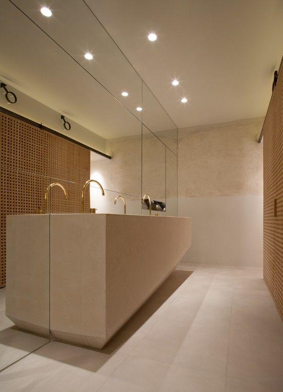 Restaurants La Bien Aparecida Madrid Bathroom Design Restaurant