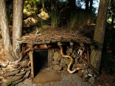 Real-Life Hobbit Homes To Make Your Inner Nerd Squeal In Delight