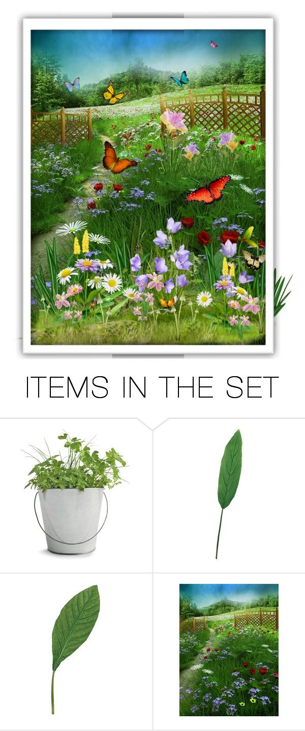 """""""The beauty of spring ☘☀️"""" by nicolencok ❤ liked on Polyvore featuring art"""