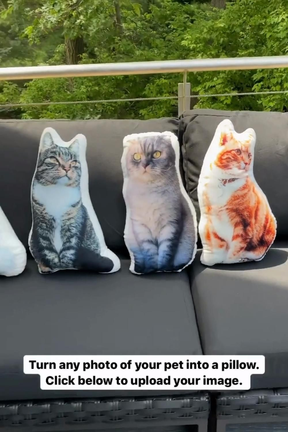 For When You Have A Moment Of Homesickness Video Custom Cat Pillow Custom Cat Cat Pillow