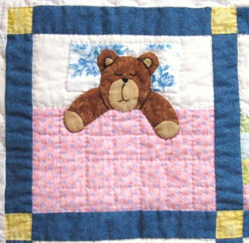 Teddy Bear Quilt Pattern I Love Teddy Bears Pinterest