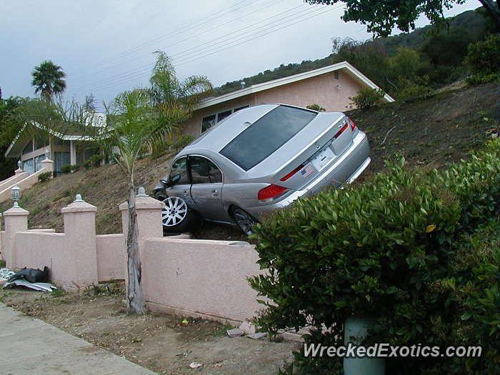 BMW 3-8 Series 7-Series crashed