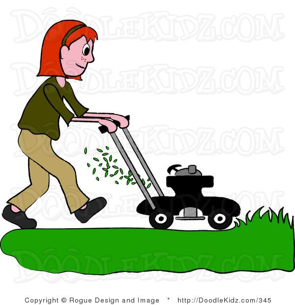 free clip art downloads lawn man | Clipart Illustration of a Big ...