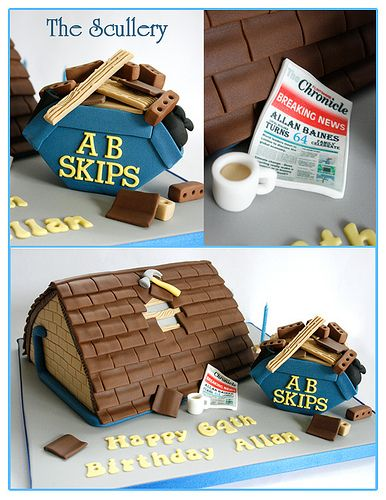 Roofer Cake Novelty Cakes Holiday Recipes Christmas Cakes For Men