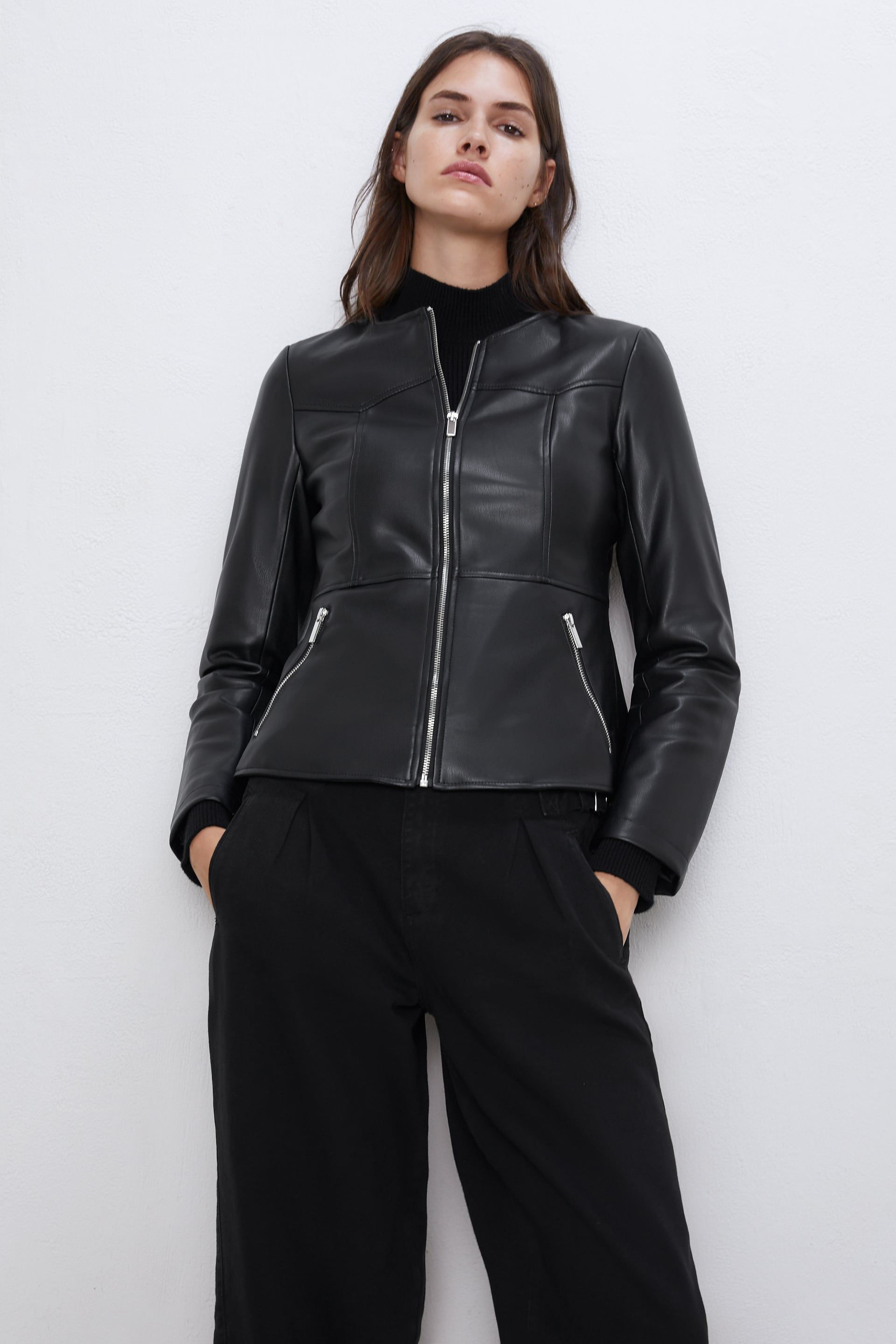 Faux leather jacket in 2020 Faux leather jackets