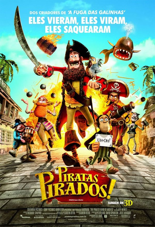 Filme Piratas Pirados The Pirates In An Adventure With Scientists Ver Filmes Online Gratis Filmes Online Gratis The Pirates