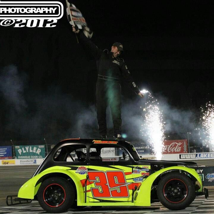 The Gina Ninja with another win @ Lake Erie speedway