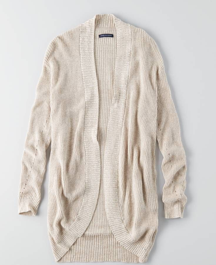 AEO Cocoon Cardigan, Women's, Brown | *Clothing* | Pinterest | Aeo ...