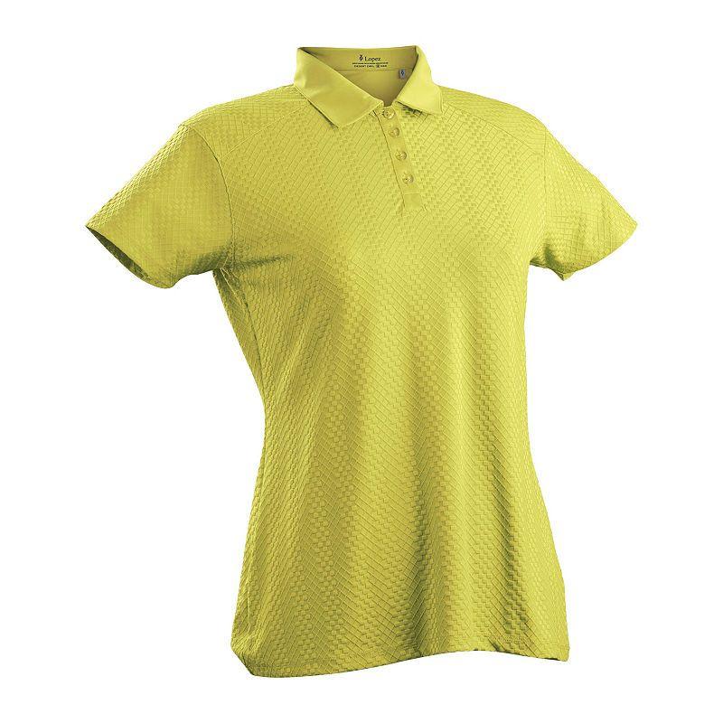 1711e20d7fa Nancy Lopez Golf Grace Short Sleeve Polo Plus