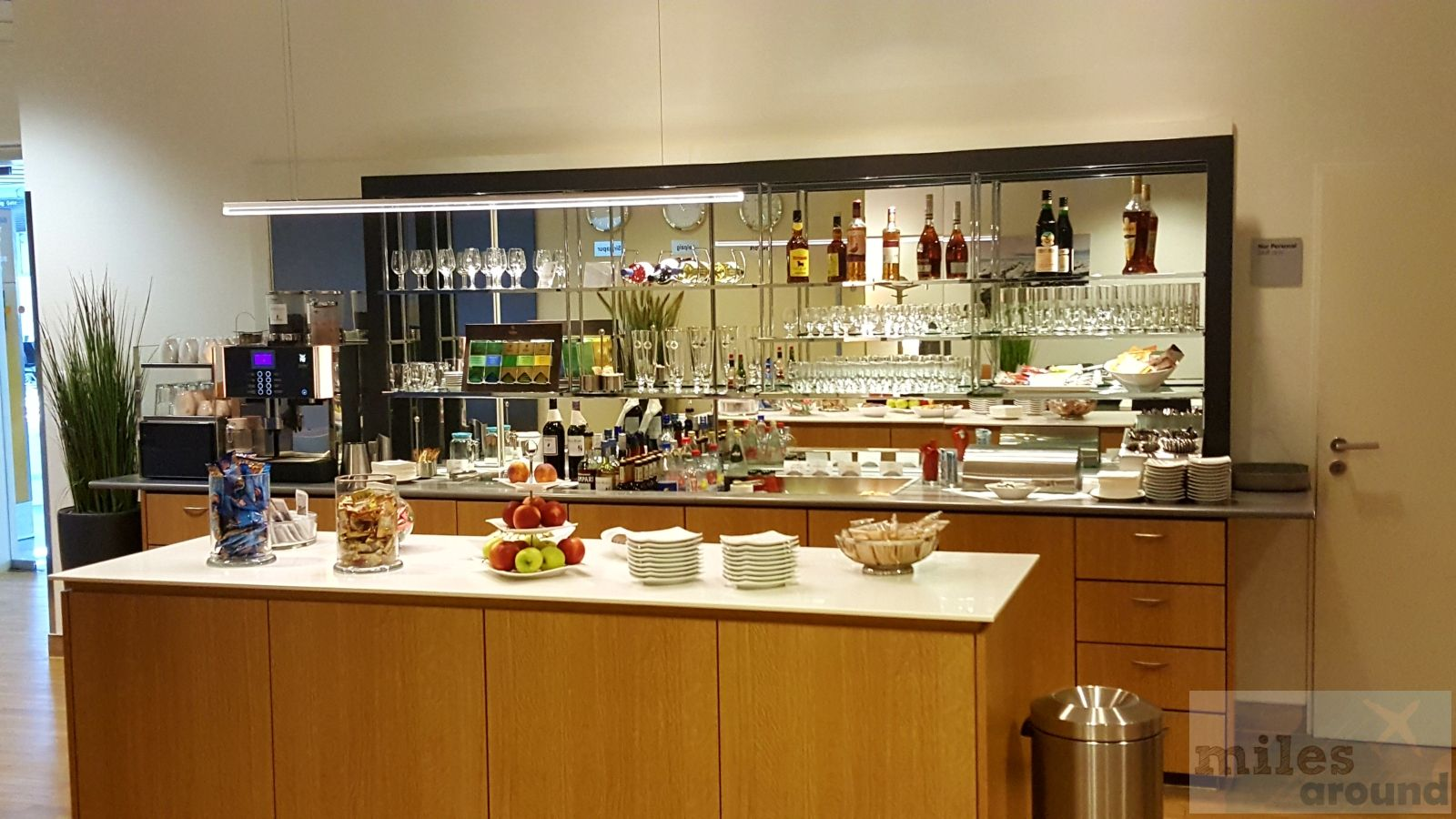 Lufthansa Business Lounge am Flughafen Leipzig/Halle