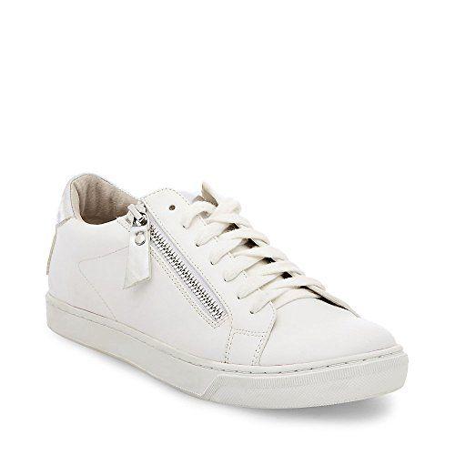 c93934c0d96 Steve Madden womens stealthh white multi sneaker   Steve Madden ...