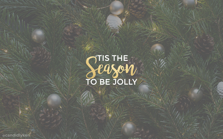 Candidly Kerri Christmas 2016 Desktop Wallpaper
