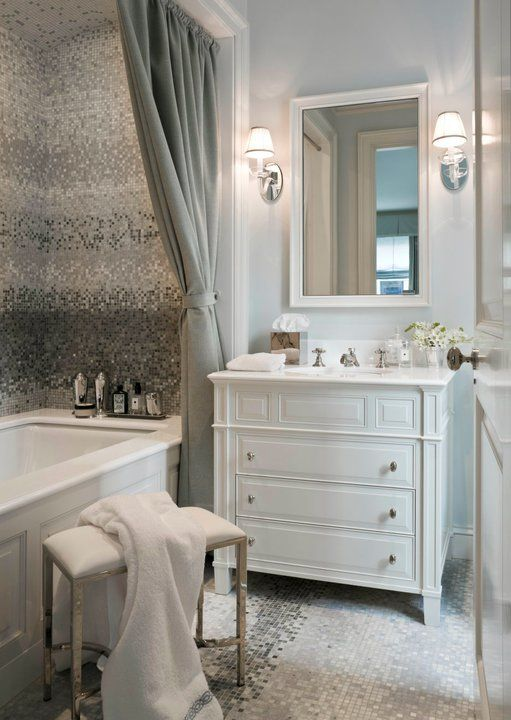 Source Sandra Nunnerley Website Stunning Bathroom With Soft Gray Fascinating Bathroom Design Website Design Inspiration