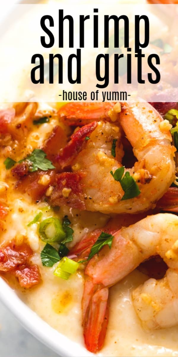Shrimp and Grits - House of Yumm