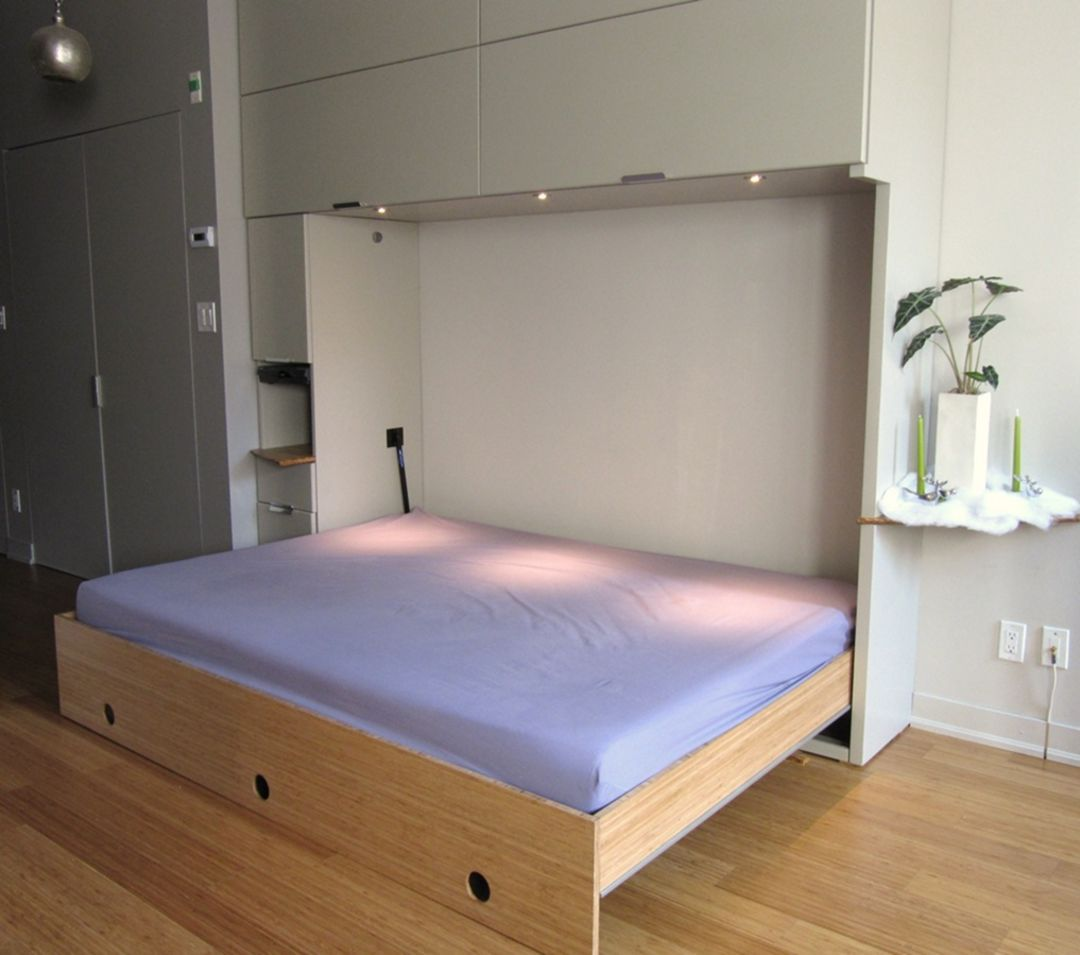 12 Awesome Folding Bed Ideas To Make Bedroom Simpler Horizontal