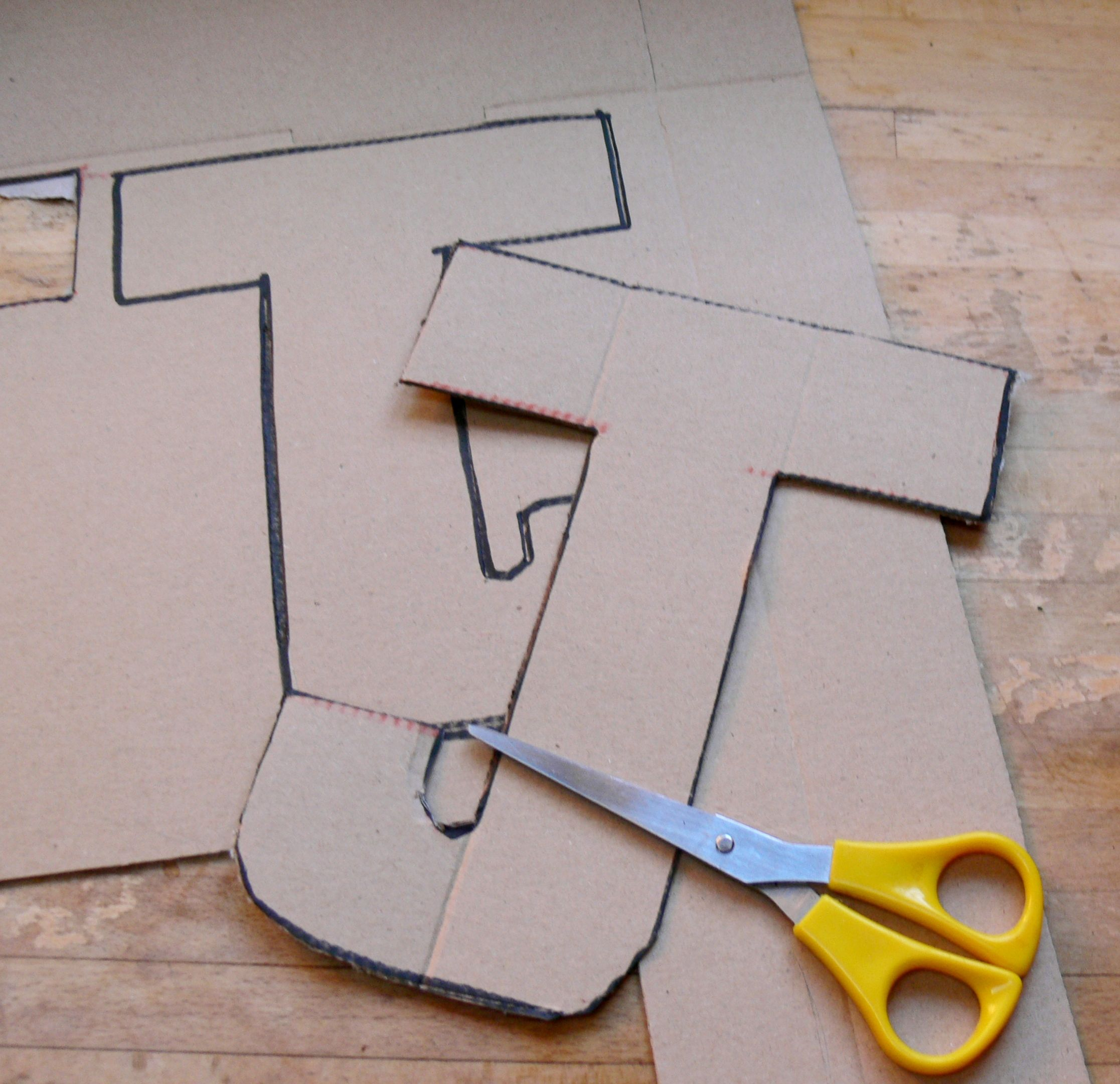 Make Your Own 3d Letters Cardboard Letters Diy Letters Large Cardboard Letters