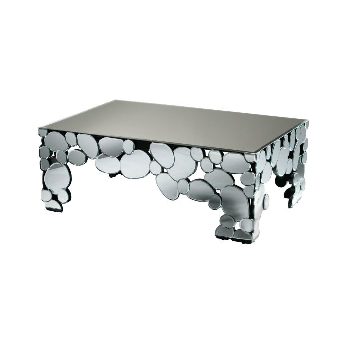Illusion Coffee Table With A Mirrored Finish,Premier Housewares,,living-room-furniture,coffee-tables