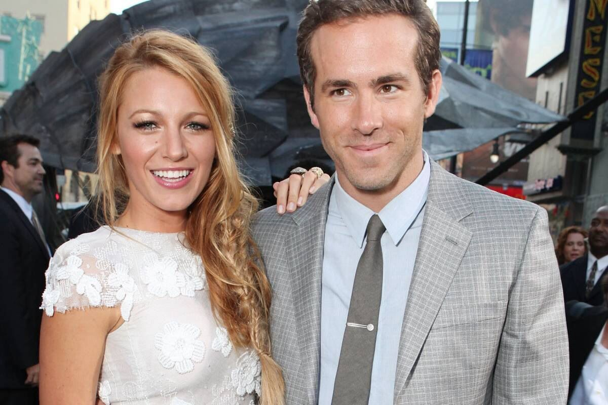 Congratulations Blake and Ryan! Blake lively wedding