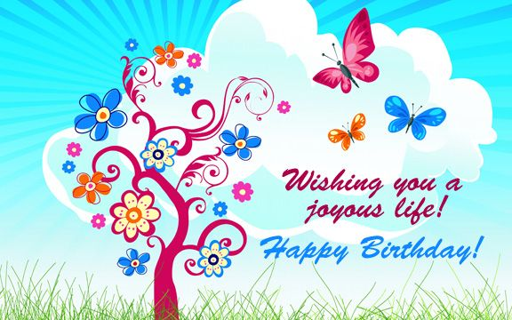 Doc550350 Wishing Happy Birthday Cards Birthday Card Happy – Free Birthday Cards Online
