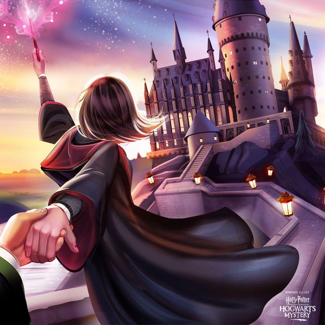 Harry Potter Hogwarts Mystery On Twitter Hogwarts Mystery Harry Potter Nail Art Hogwarts