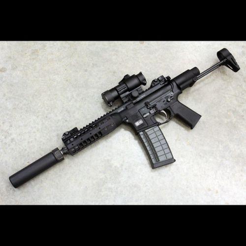lwrc with suppressor @beardedguy #BuffaloTactical www.Buffalofirearms.com https://www.facebook.com/Buffalofirearms #ArmedSociety #Ar #223 #ak47 #firearms #1911 #sig #glock #guns #libertarian #liberty #patriot #2A #ghostgun #beararms #michigan #gunsbymail #btac #buffalo #buffalofirearms #molonlabe