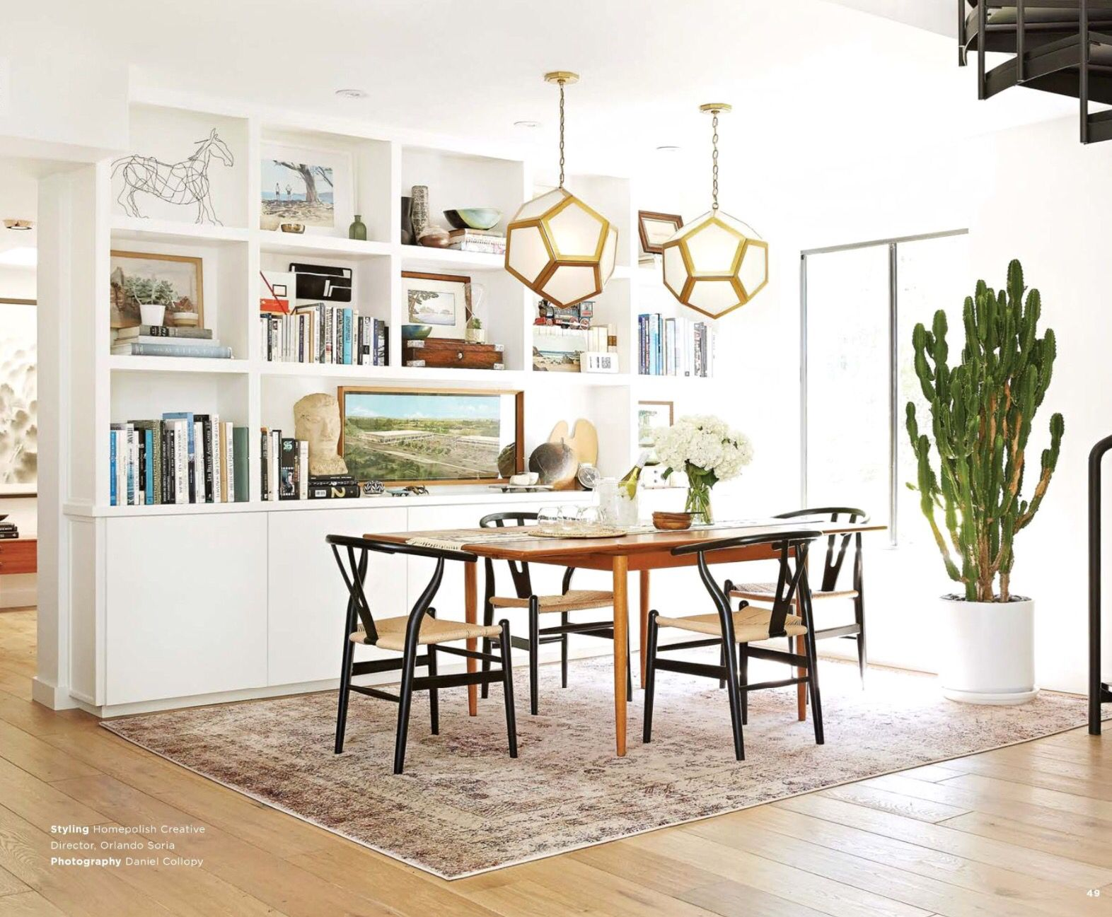 The Dining Room of Orlando Soria - AF-01 Ivory Multi from Loloi ...