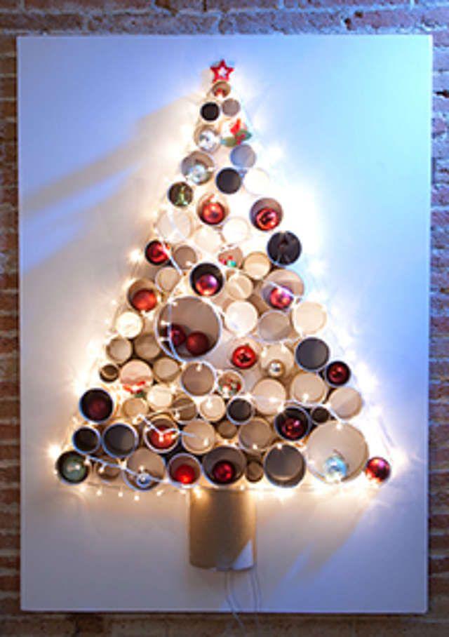 die besten 25 basteln papprollen weihnachten ideen auf. Black Bedroom Furniture Sets. Home Design Ideas