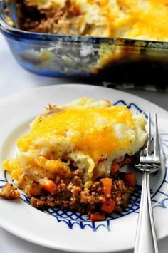Shepard's Pie - it's got beer in it so you know it's good.  Used half ground beef and half mild sausage - amazing!