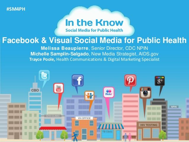 Facebook And Visual Social Media For Public Health Social Media Measurement Social Media Health Communication