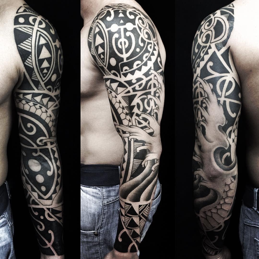 Marcio Sespede Tattoo On Instagram Tattoo Finalizada Valew Fabio Tribal Blackwork Maori Sp Saopaulo Tat Tattoos Tribal Tattoos Polynesian Tattoo